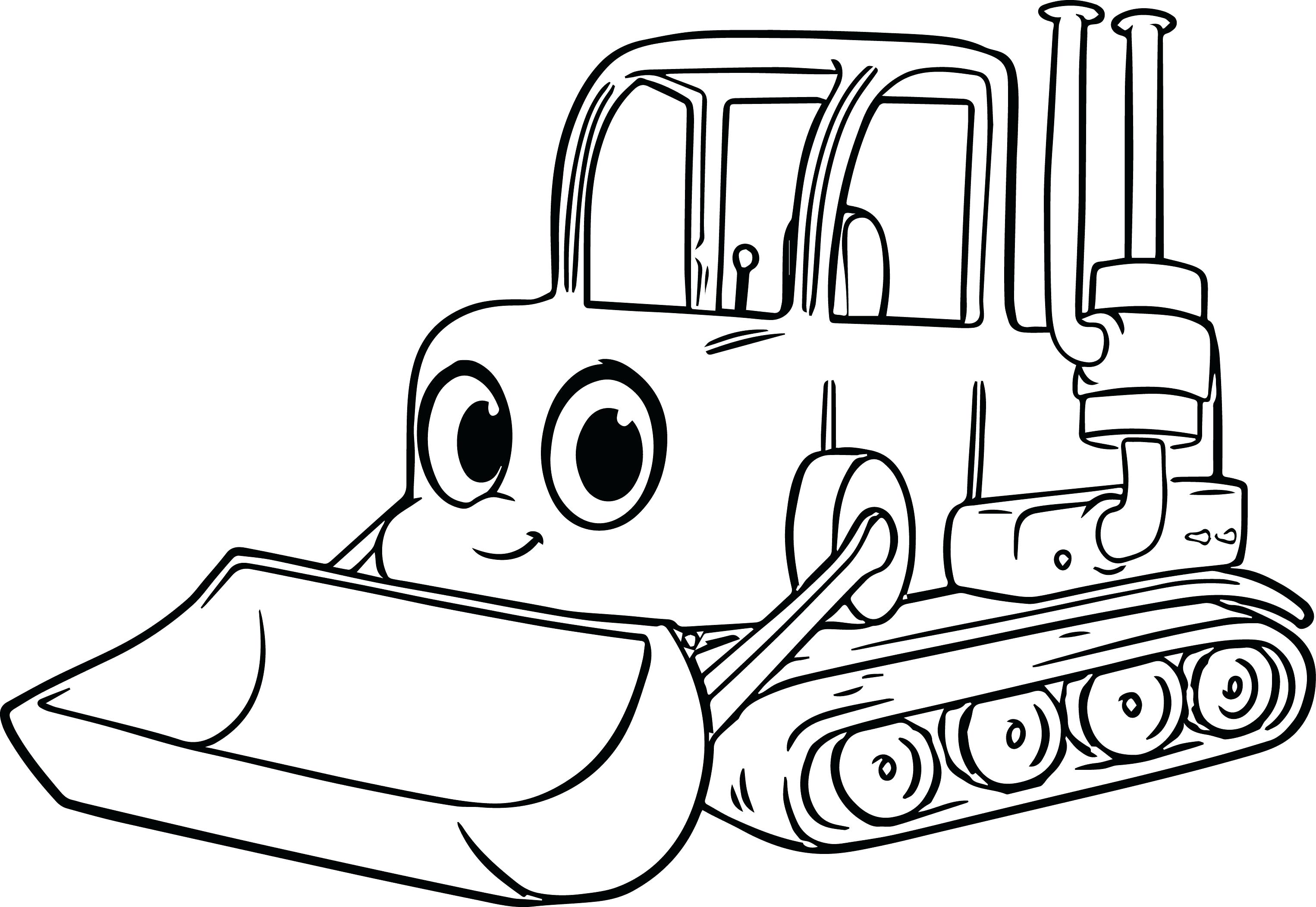 - Excavator Coloring Pages - Coloring Home