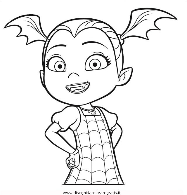 19 Inspirational Images Of Vampirina Coloring Sheet Crafted Here Coloring Home