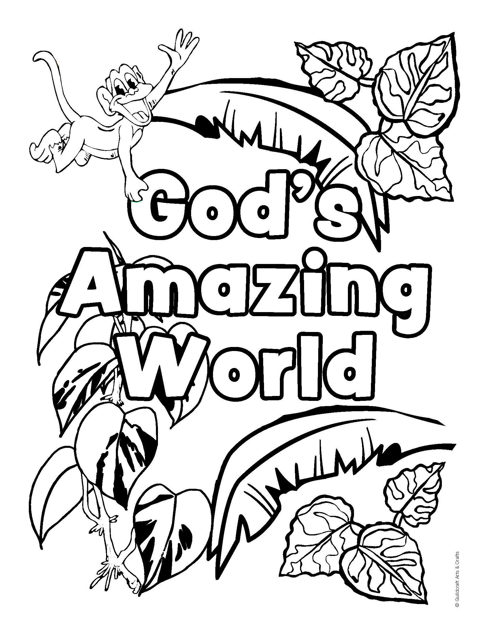 free kids safari coloring pages - photo#31