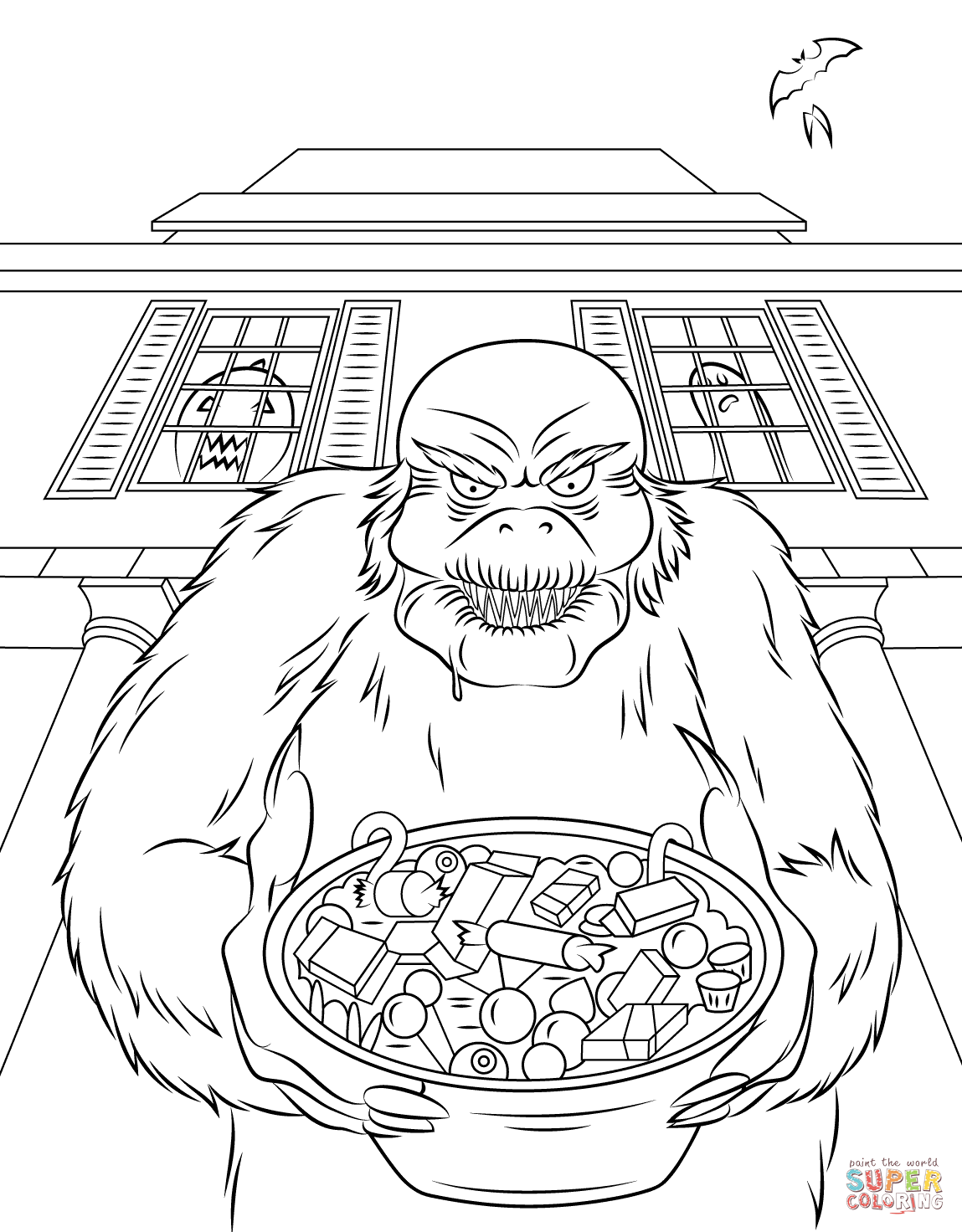 Goosebumps Coloring Pages Coloring Home Goosebumps Coloring Pages