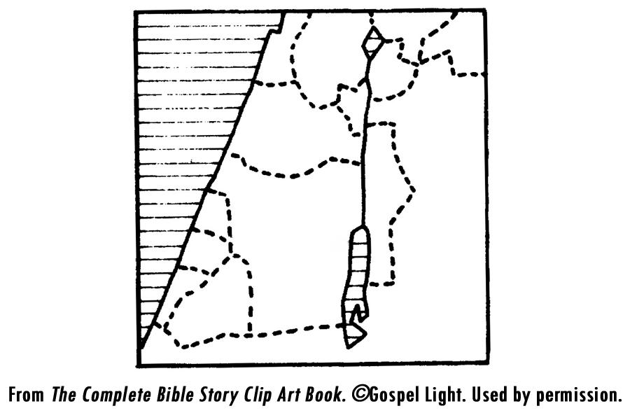10 Pics Of Joshua And Caleb Bible Coloring Pages - Joshua ...