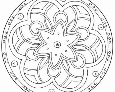 Printable For Adults Geometric - Coloring Pages for Kids and for ...