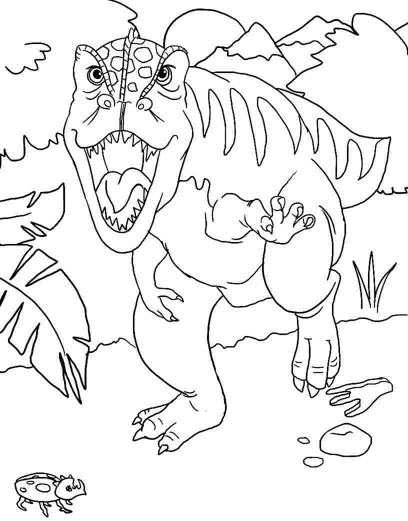 velociraptor coloring pages coloring home