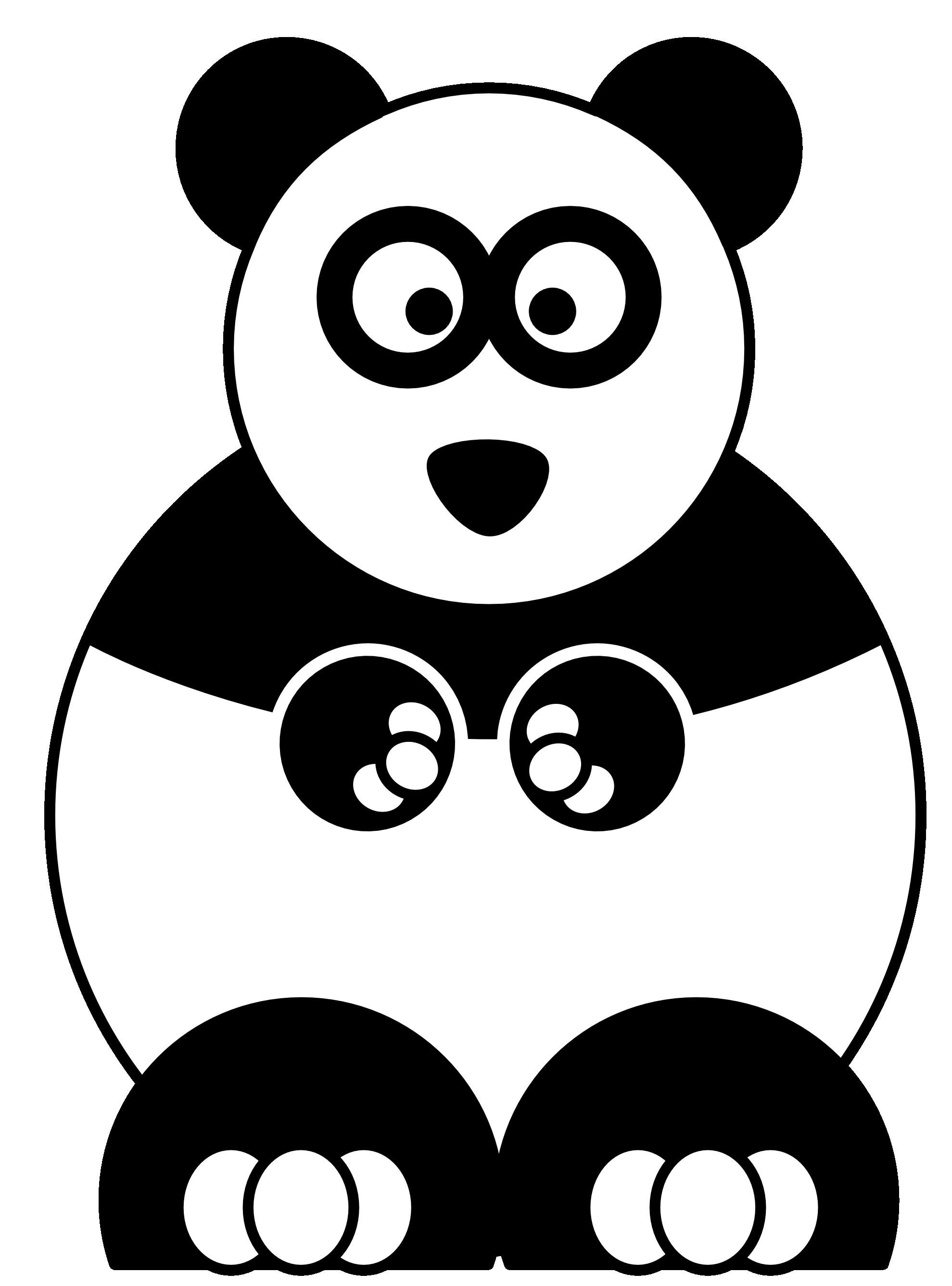 Coloring pages baby panda - 8 Pics Of Cute Cartoon Panda Coloring Pages Baby Panda Coloring