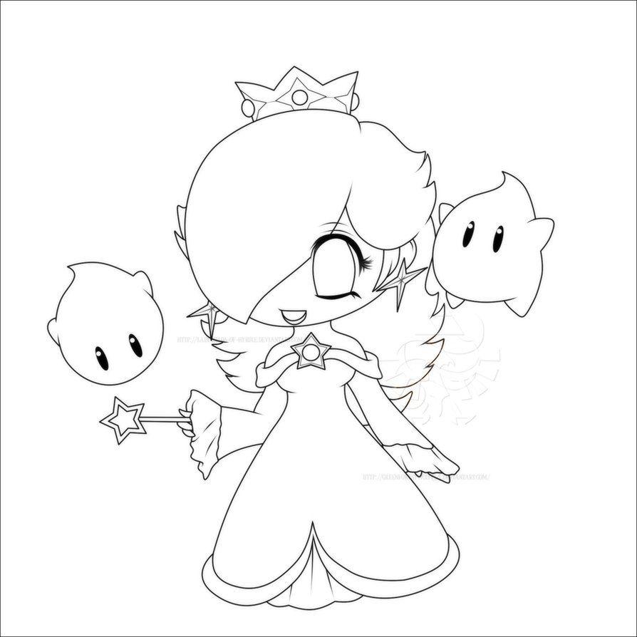 12 pics of princess baby rosalina coloring pages baby peach