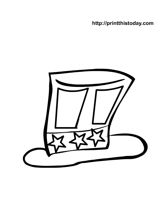 Fourth Of July Coloring Pages Pdf : Th of july coloring pages print this today home