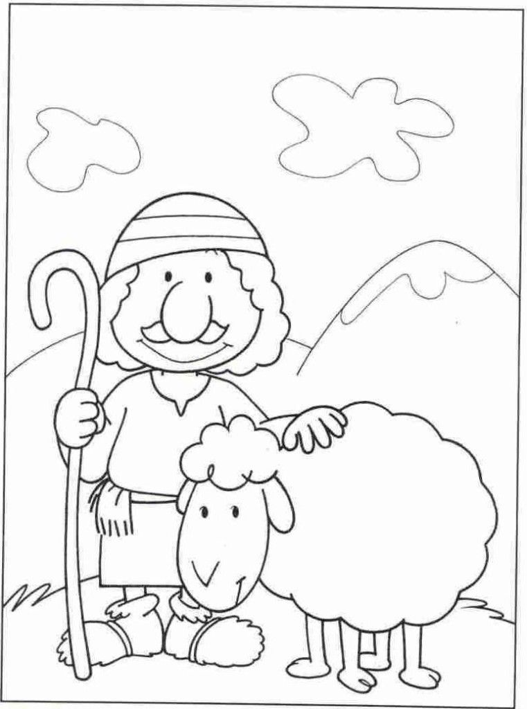 - Good Shepherd Coloring Pages Free - Coloring Home