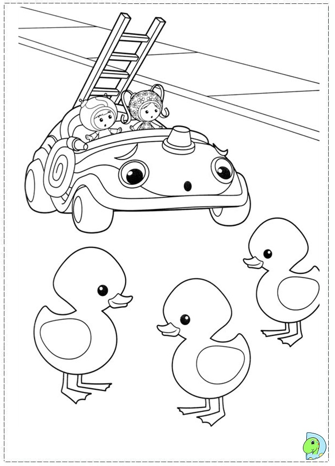 UMIZOOMI Colouring Pages (page 2)