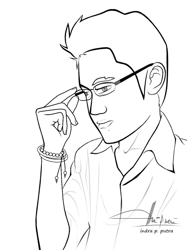 Free coloring pages of man for Coloring pages man