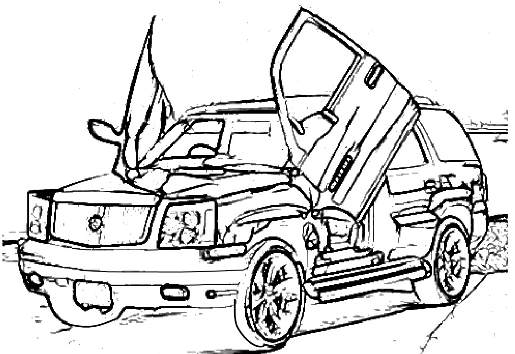 Escalade Coloring Pages