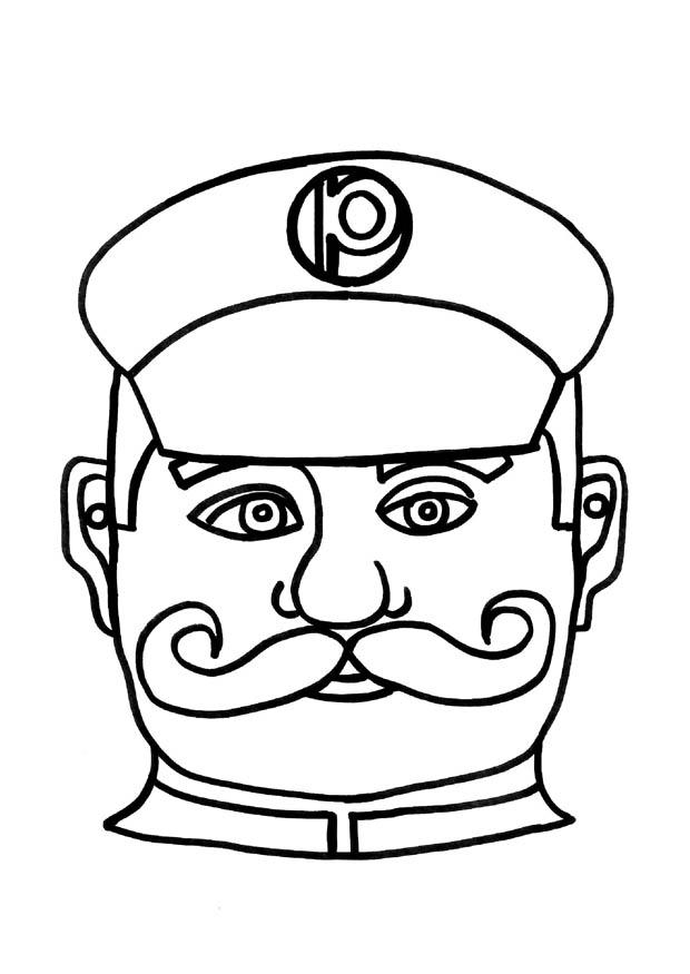 policeman coloring page - policeman coloring page coloring home
