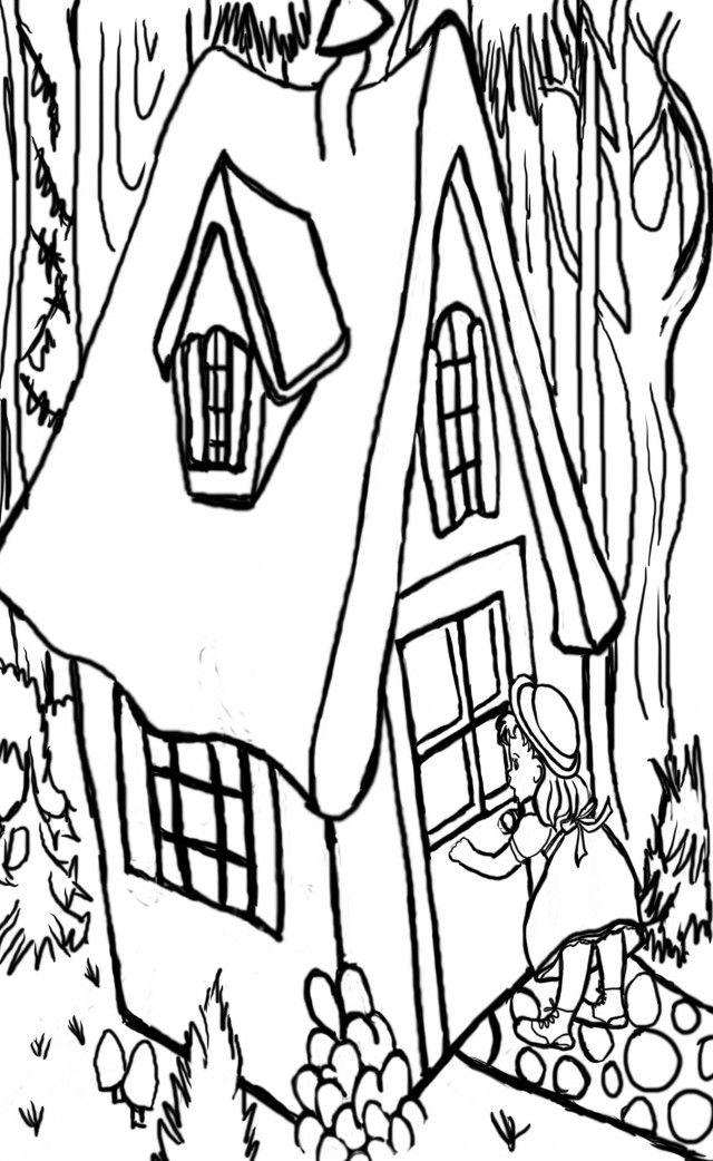 the three bears coloring pages - photo#26