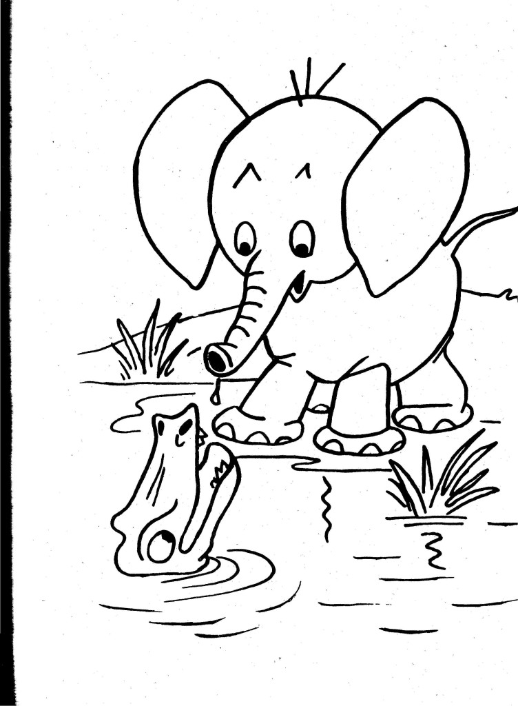 Coloring pages of wild animals az coloring pages for Coloring pages of wild animals