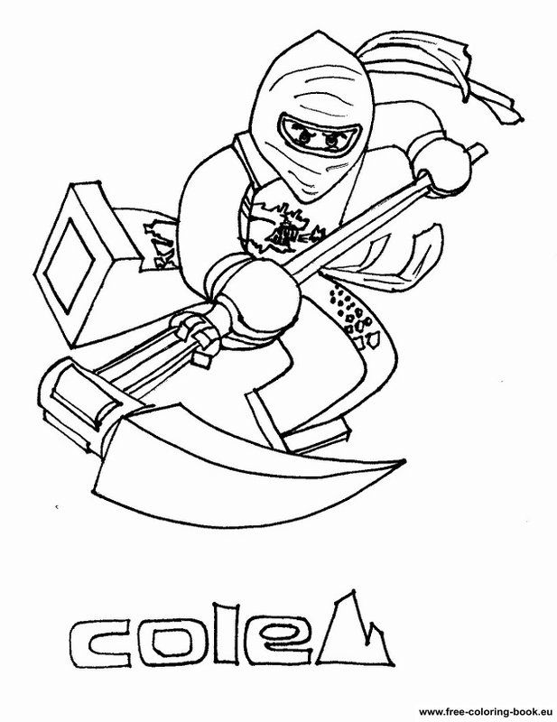Lego Ninjago Coloring Pages Printable - Coloring Home