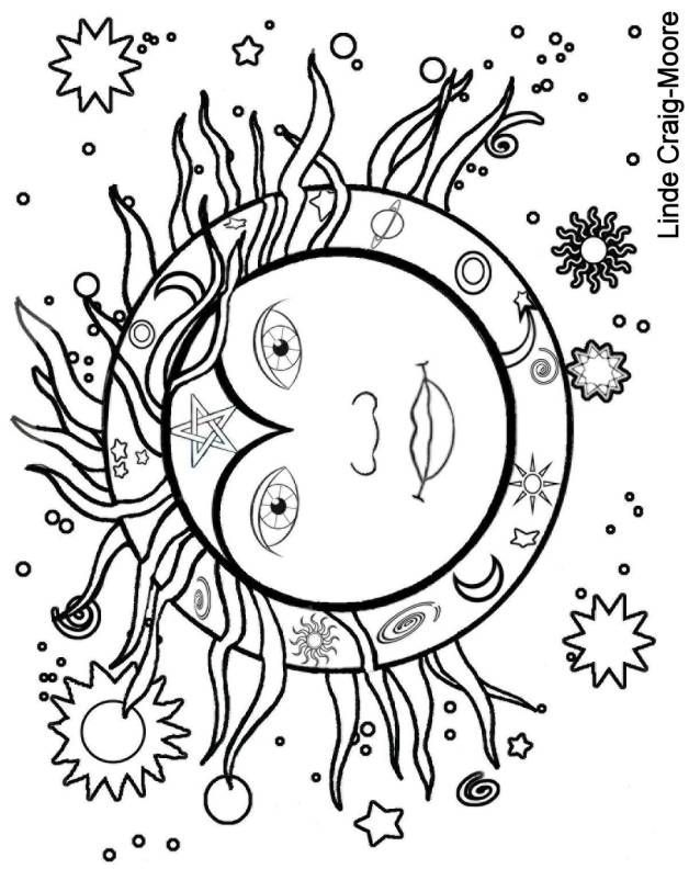 Wiccan Coloring Pages Coloring