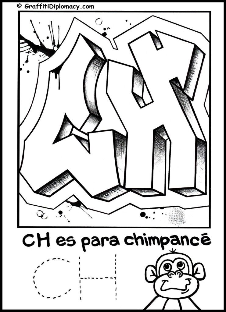 Coloring Pages Spanish Alphabet : Spanish alphabet coloring pages home
