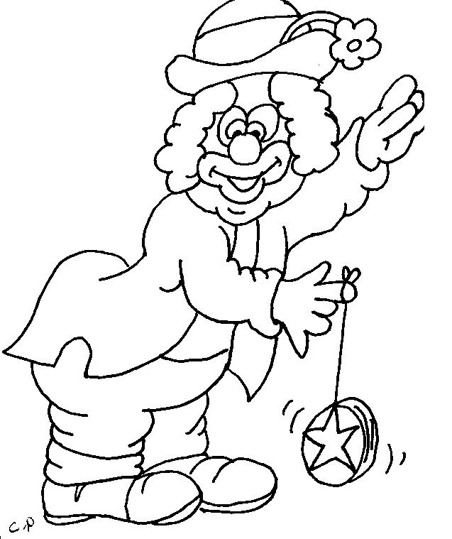 thanksgiving coloring pages funny clowns - photo#2