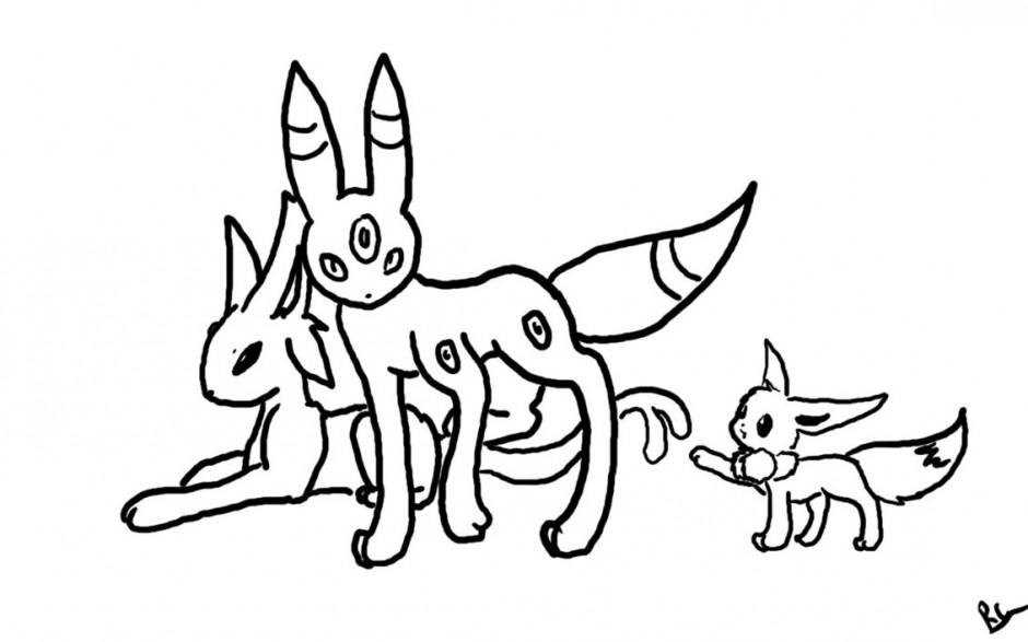 espeon pokemon coloring pages - photo#37