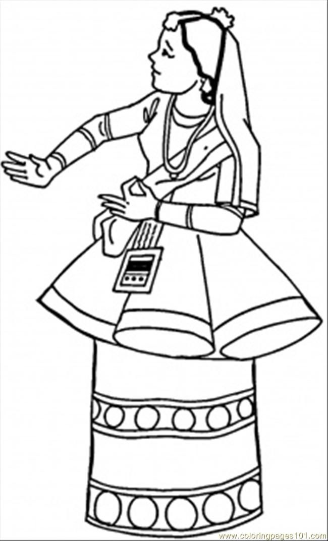 Free Indian Coloring Pages Coloring Home