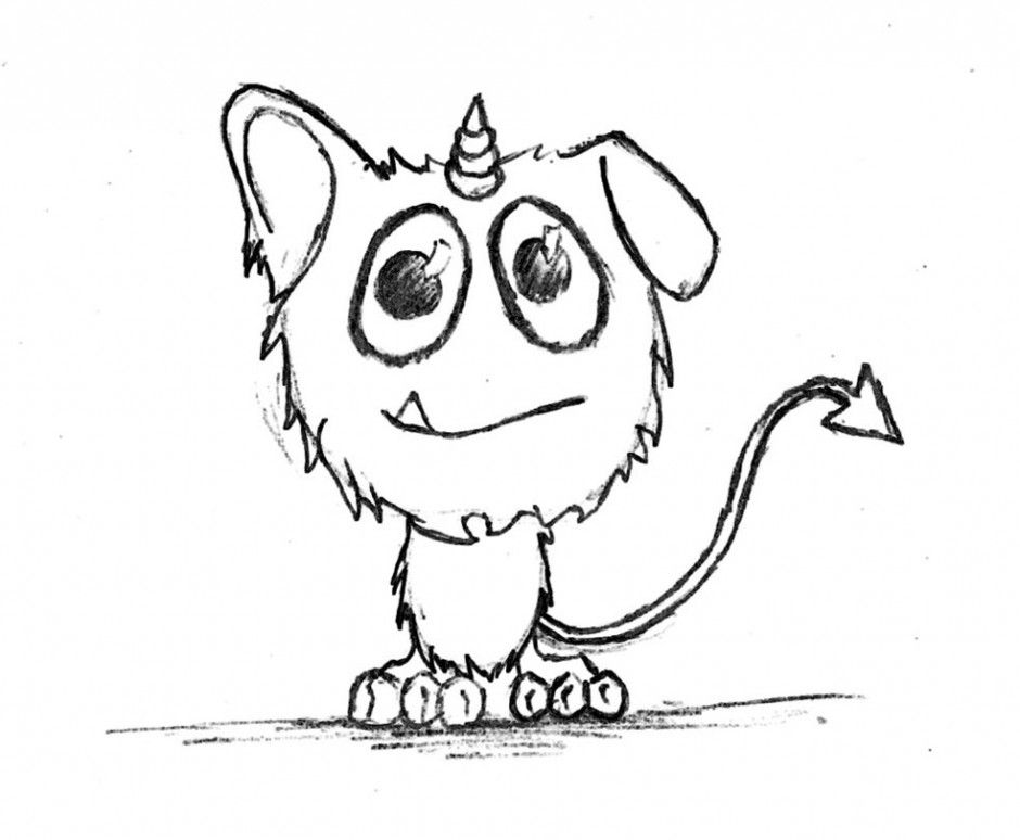 cute monster coloring pages - photo#23