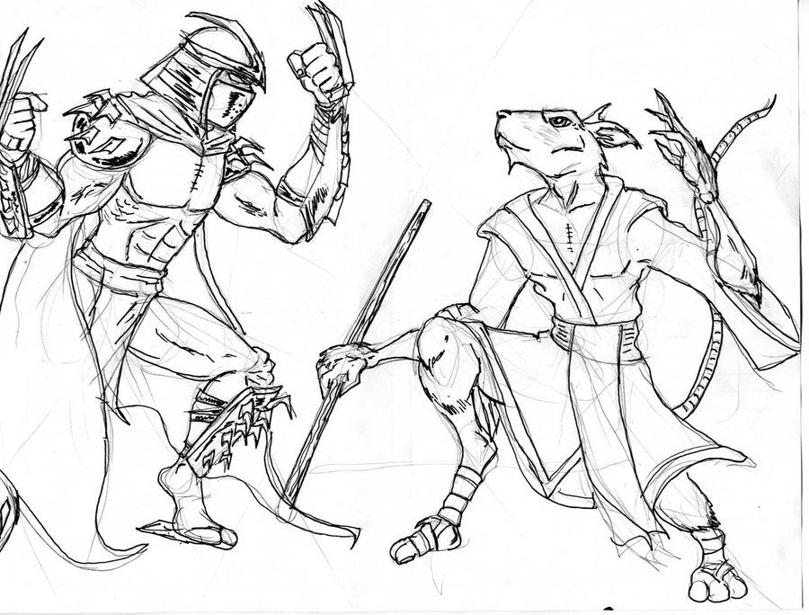 tmnt coloring pages shredder machine - photo#32