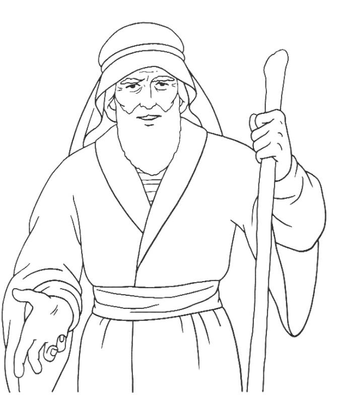Moses Images AZ Coloring Pages