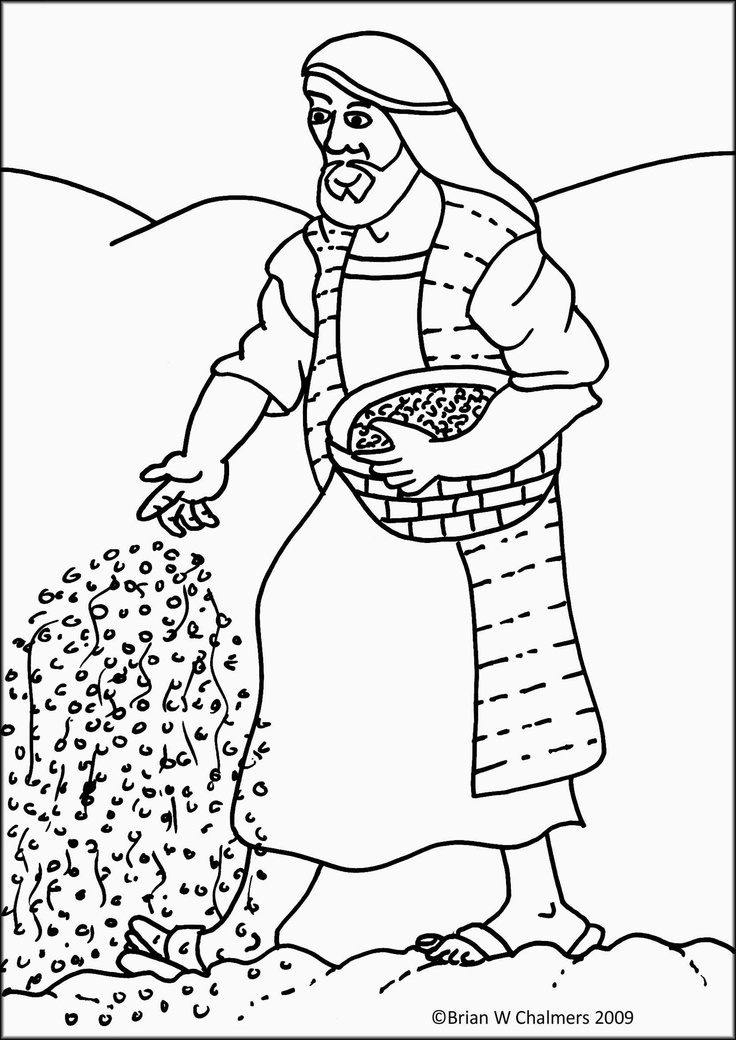 parables coloring pages - photo#41