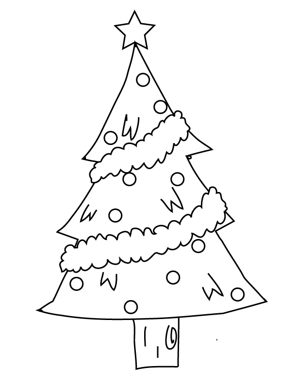 Christmas Tree Patterns For Kids