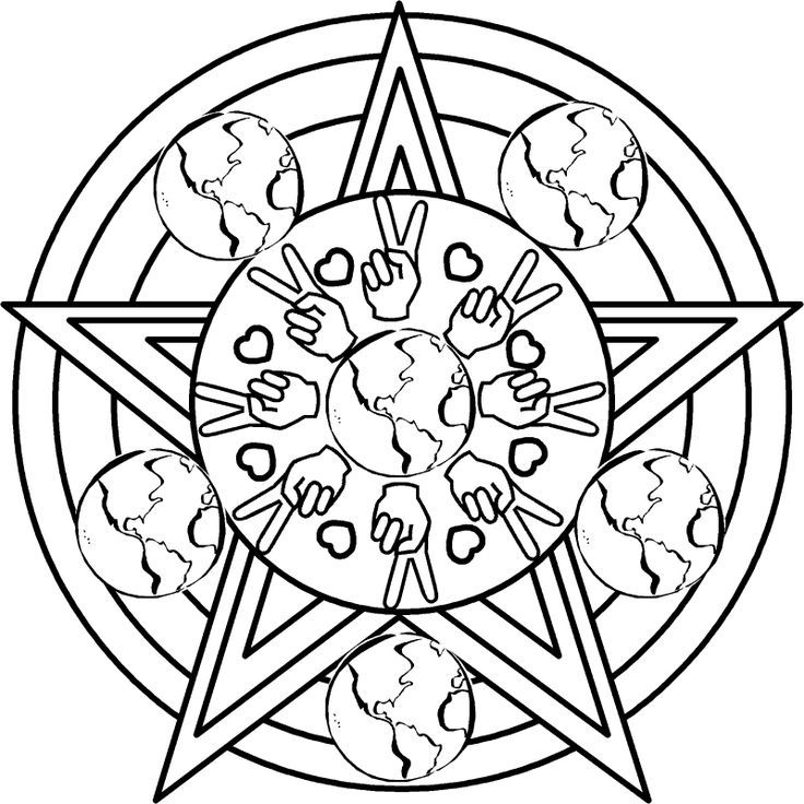 pagan yule coloring pages - photo #46