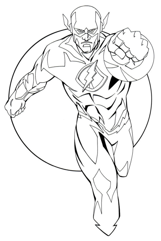 flash gordon coloring pages free - photo#25