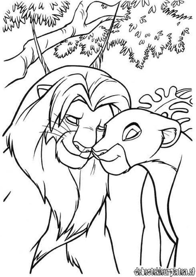 The Lion King 2 Coloring Pages Coloring Home The King 2 Coloring Pages