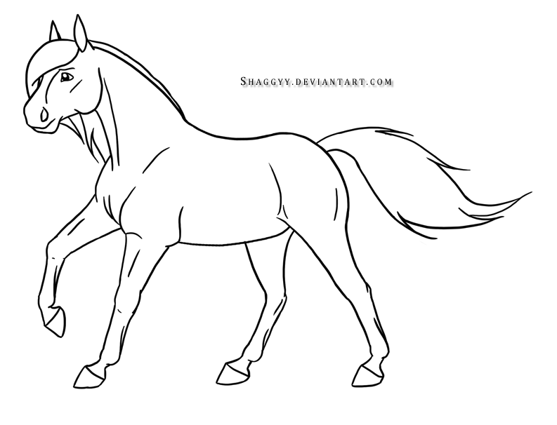 Easy Drawings Of Horses Running Images Amp Pictures
