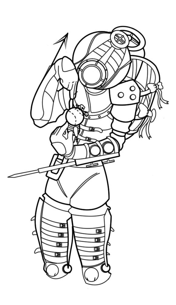 bioshock coloring pages coloring pages for all ages