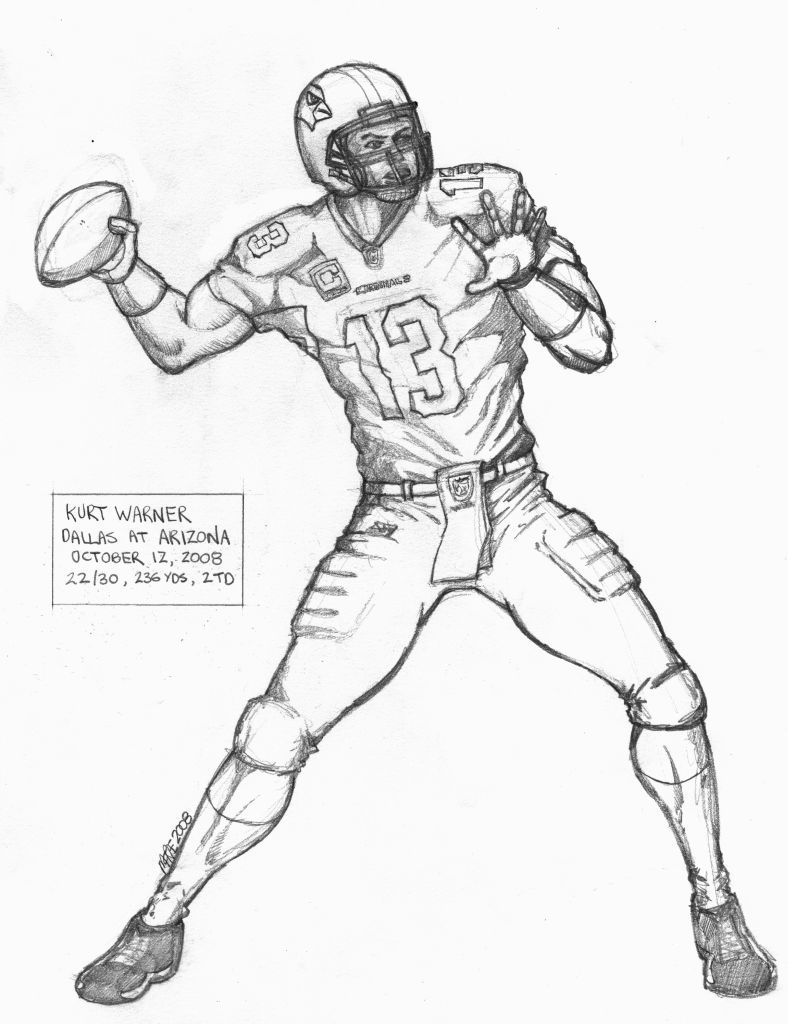 Dallas Cowboys Coloring Page