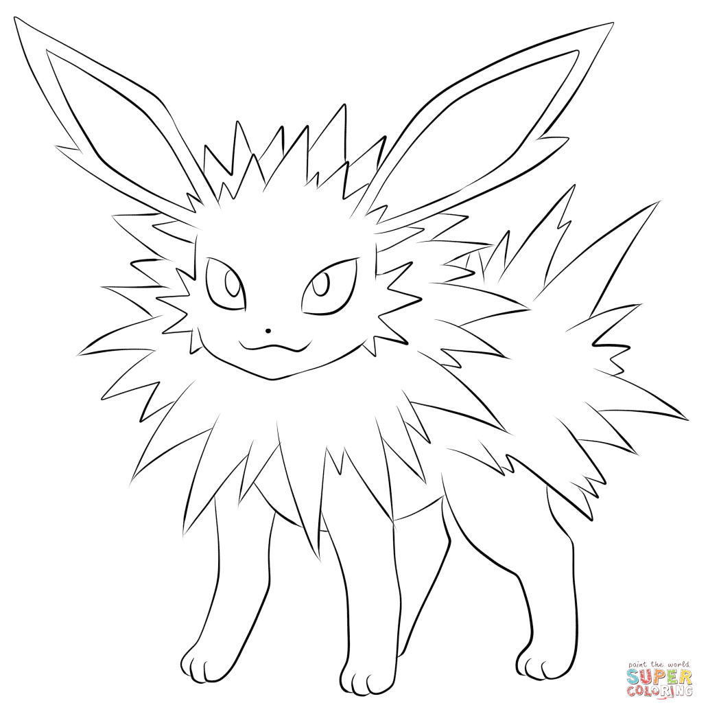 Pokemon Flareon Coloring Pages Az Coloring Pages Flareon Coloring Pages