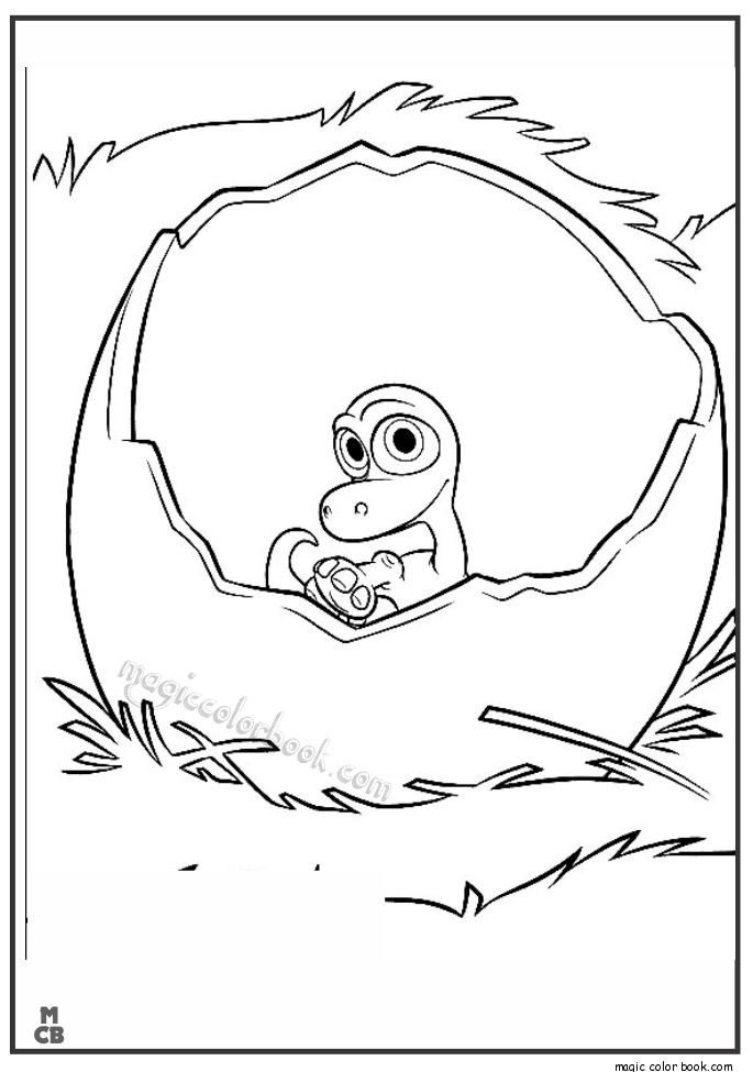 Easter Dinosaur Coloring Pages Coloring Home