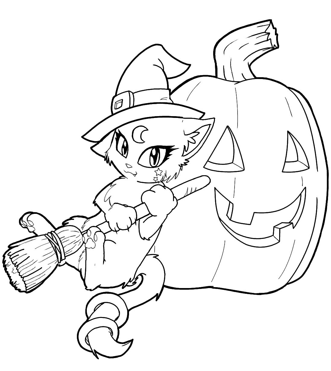 free coloring pages halloween witch coloring home