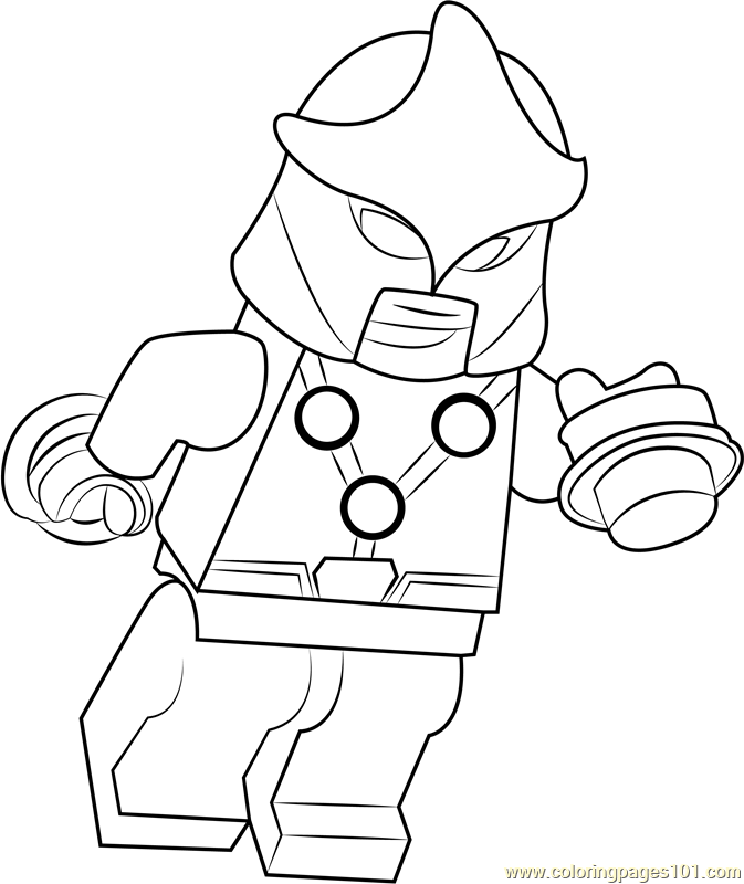 Lego Nova Coloring Page - Free Lego Coloring Pages : ColoringPages101.com
