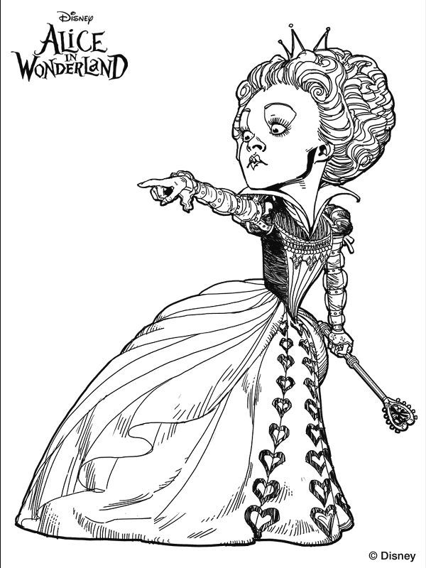 Free Printable Alice in Wonderland Coloring Pages | Alice in ... | 800x600
