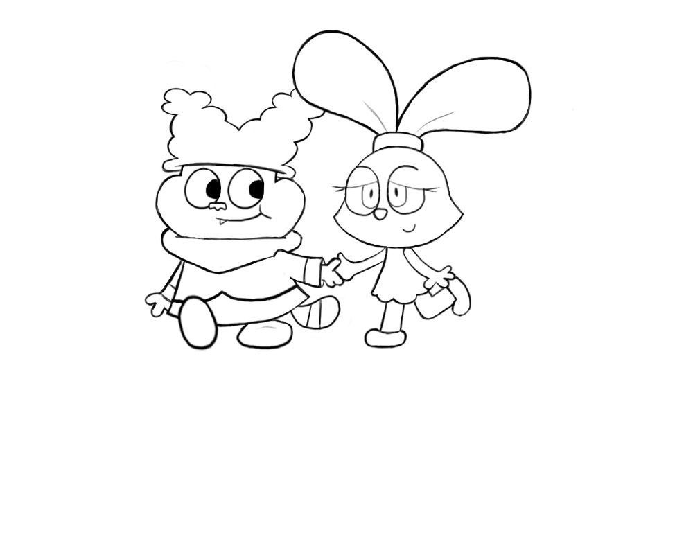 Chowder Coloring Pages To Print Coloring Home Chowder Coloring Pages