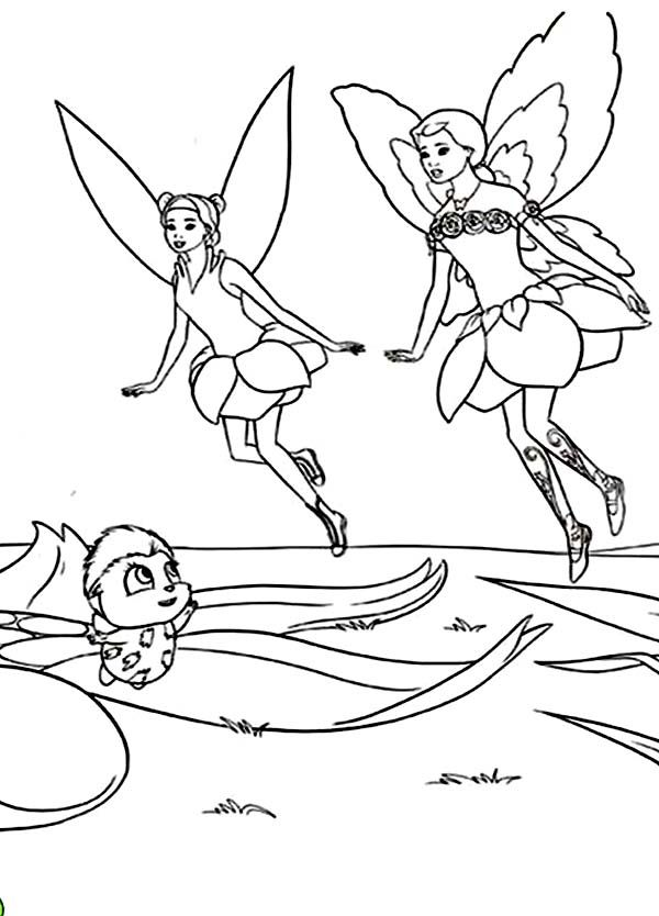 Coloring Pages Of Barbie Fairytopia : Fairytopia coloring pages home