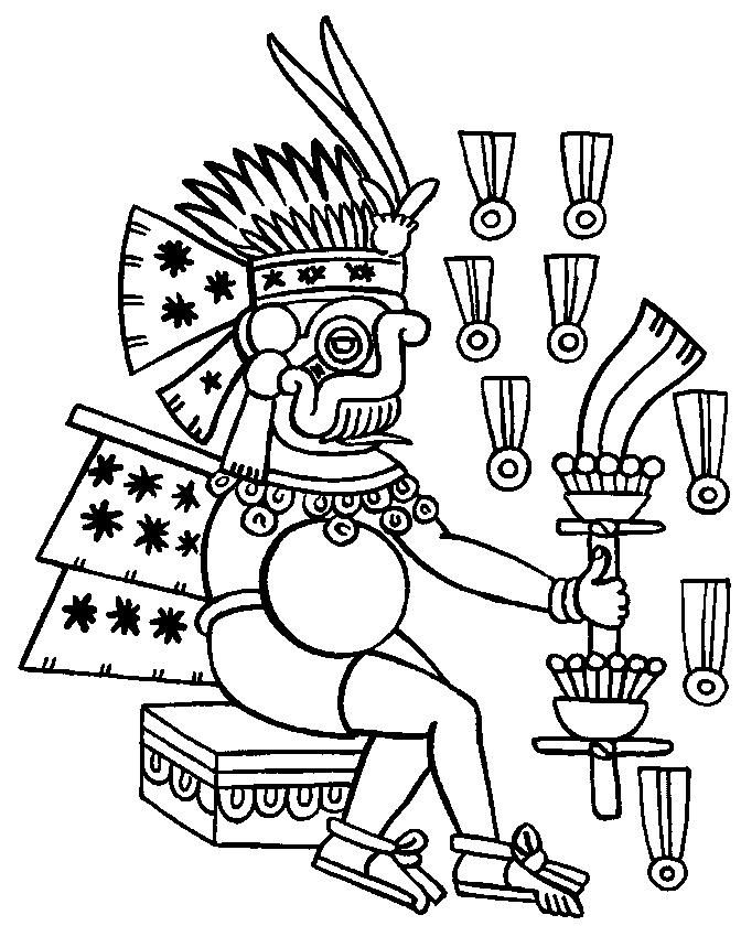 Aztec Empire coloring page 10 Coloring Pages Coloring Home
