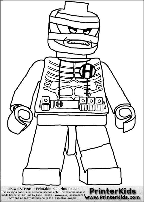 It is an image of Clever Coloring Pages Lego Batman