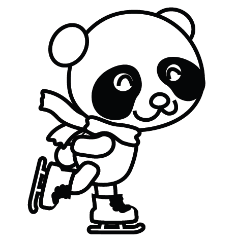 Cute Panda Coloring Pages Coloring