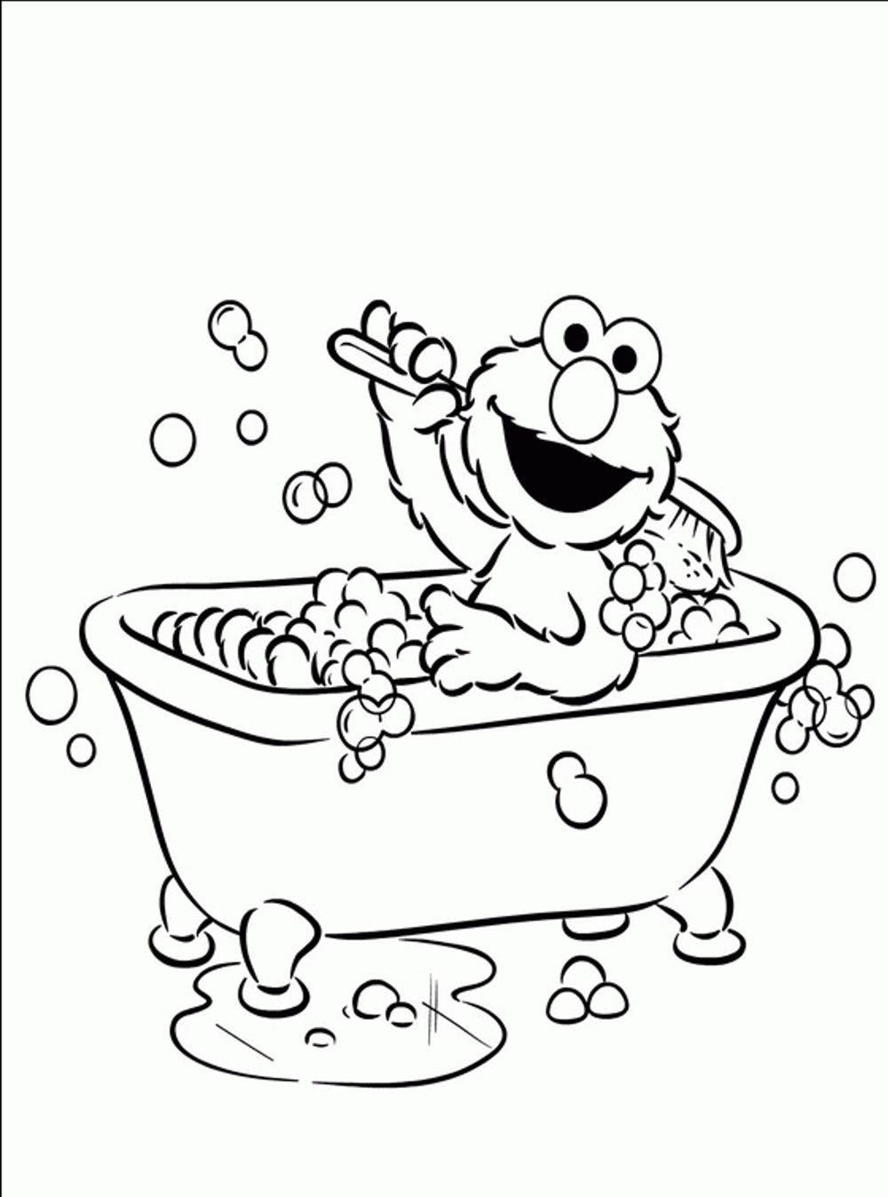 Elmo Coloring Pages To Print Printable Kids Colouring Pages Coloring Home