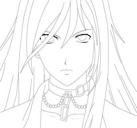 Rosario Plus Vampire Coloring Pages Coloring Pages