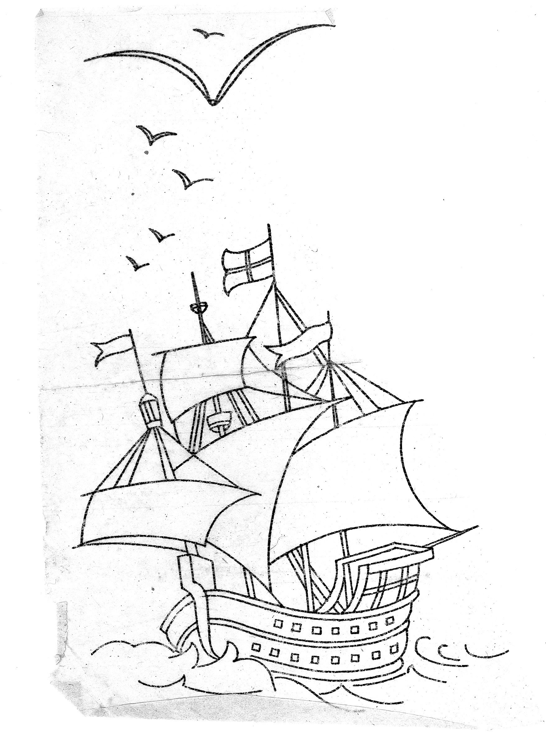 mayflower coloring pages - mayflower coloring page coloring home