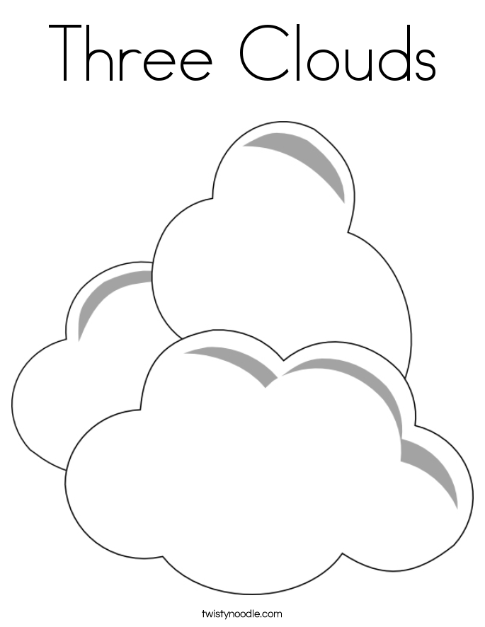 coloring-pages-of-clouds | Free Coloring Pages on Masivy World