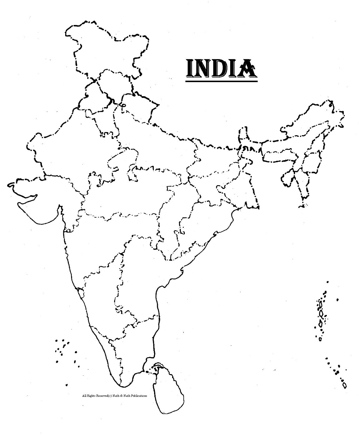 India Map Coloring Page Coloring Home – Ancient India Map Worksheet
