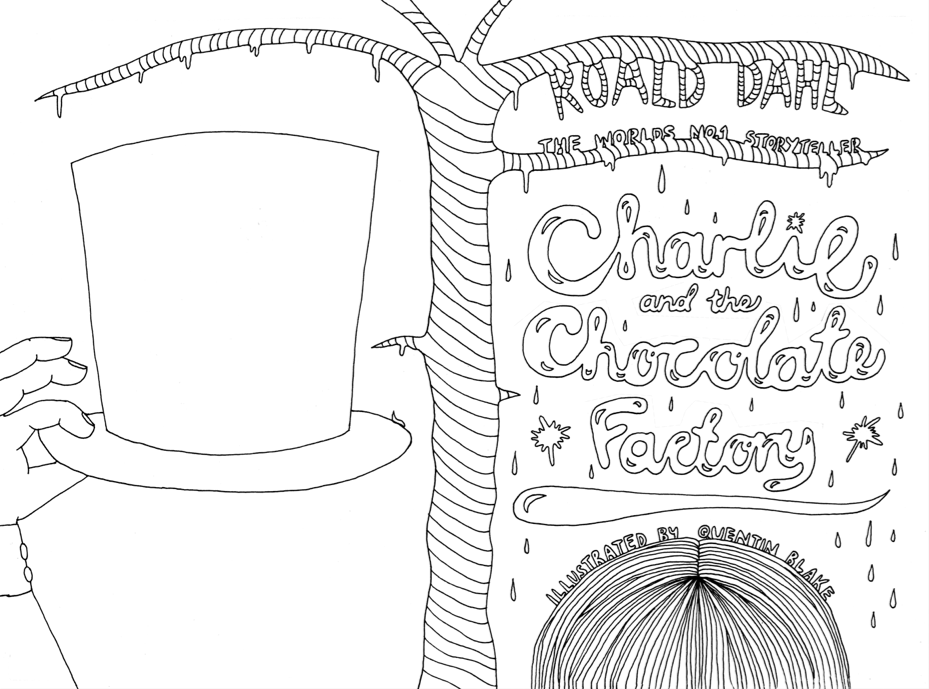 Charlie And The Chocolate Factory Coloring Pages Printable Factory Coloring Page